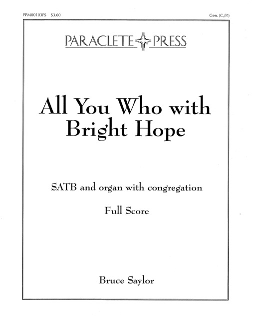 All You Who with Bright Hope