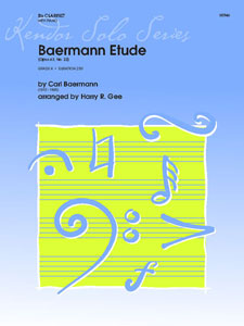 Baermann Etude Op. 63 No. 22