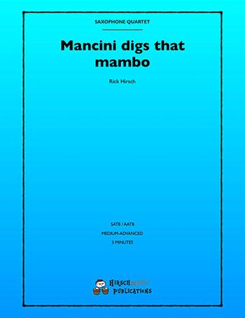 Mancini Digs That Mambo