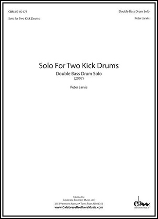 Solo for Two Kick Drums Op. 7