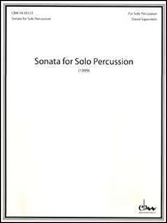 Sonata for Solo Percussion