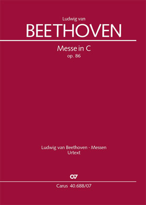 Mass in C Major, Op. 86 Cover