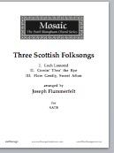Three Scottish Folksongs