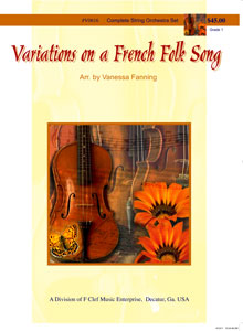 Variations on a French Folk Song