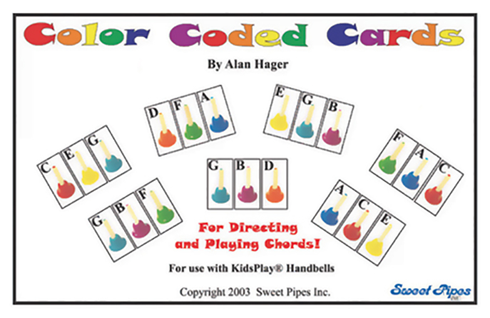 Kidsplay Color Coded Cards