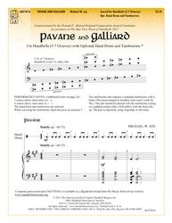 Pavane and Galliard
