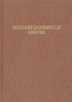 Mozart Yearbook, 2007-2008