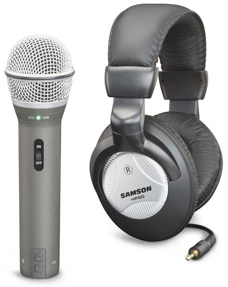 Samson Q2U USB/XLR Recording Pak