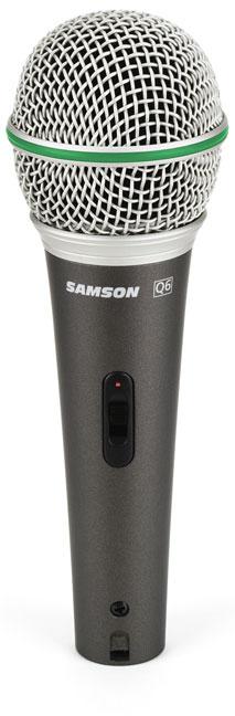 Samson Q6 Handheld Microphone