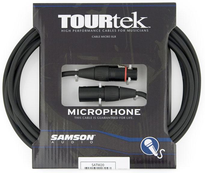 Tourtek Microphone Cables