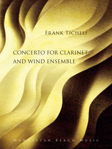 Concerto for Clarinet and Winds Cover