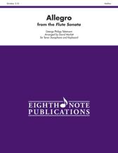 Allegro from Flute Sonata