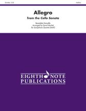 Allegro from the Cello Sonata