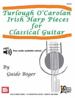 Irish Harp Pieces for Classical Guitar