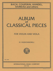 Album of Six Classical Pieces