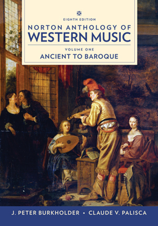 Anthology of Western Music #1 Ancient to Baroque