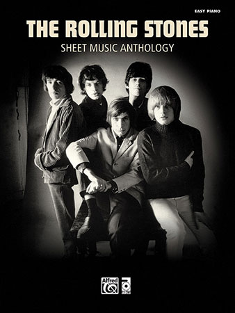The Rolling Stones Sheet Music Anthology piano sheet music cover