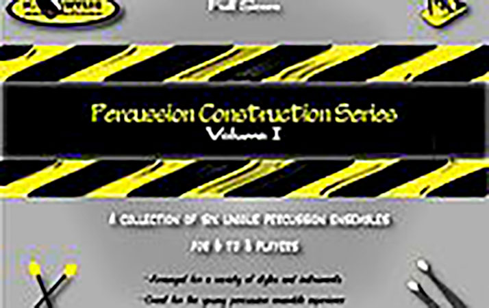 Percussion Construction Series Volume 1 Ensembles