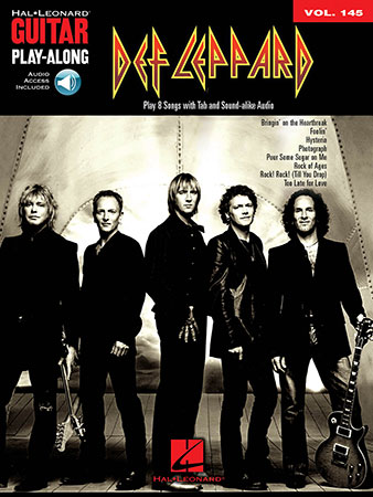 Guitar Play Along #145 Def Leppard