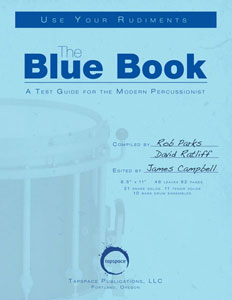 The Blue Book: A Test Guide for the Modern Percussionist Thumbnail