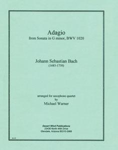 Adagio from Sonata in G Minor BWV 1020