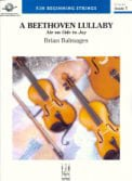 A Beethoven Lullaby choral sheet music cover