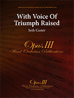 With Voice of Triumph Raised