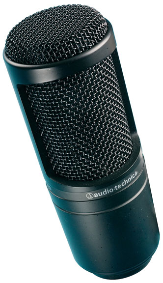 Audio Technica Side-Address Microphone