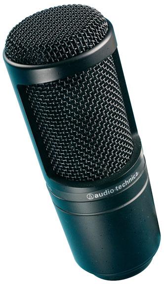 Audio Technica Side-Address Microphone