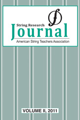 String Research Journal #2 2011