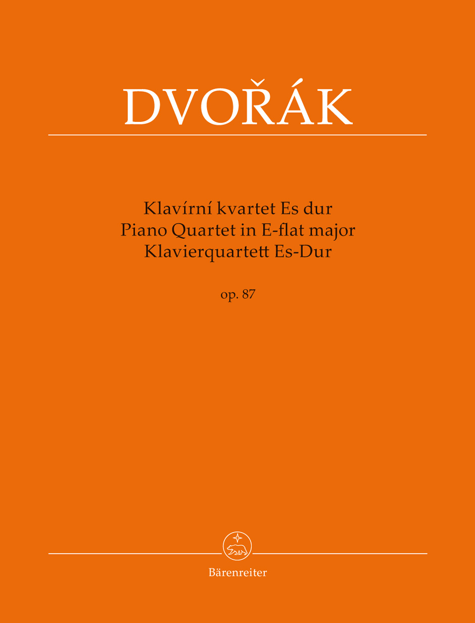 Piano Quartet in E-flat Major, Op. 87