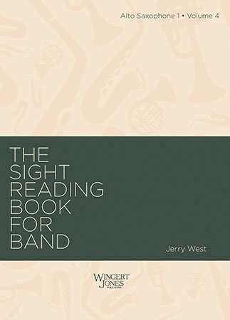 The Sight-Reading Book for Band, Vol. 4  Cover