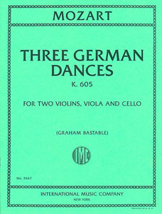 Three German Dances, K. 605