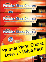 Alfred's Premier Piano Course Level 1A Value Pack
