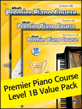 Alfred's Premier Piano Course Level 1B Value Pack