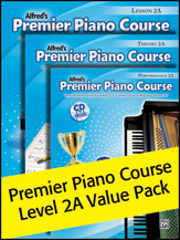 Alfred's Premier Piano Course Level 2A Value Pack