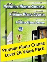 Alfred's Premier Piano Course Level 2B Value Pack