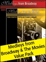 Medleys from Broadway and Movies Value Pack