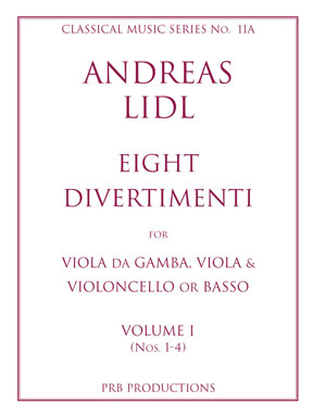 Eight Divertimenti, Vol. 1
