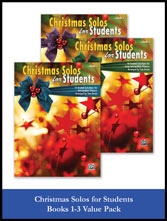 Christmas Solos for Students Value Pack