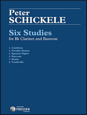 Six Studies for Clarinet and Bassoon