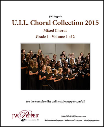 UIL Choral Collection Complete 2015 - Mixed Chorus Cover