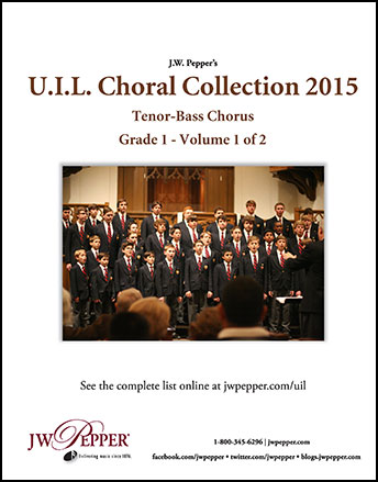 UIL Choral Collection Complete 2015 - Tenor/Bass Chorus
