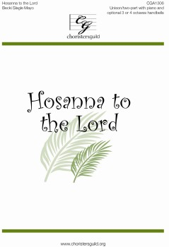 Hosanna to the Lord