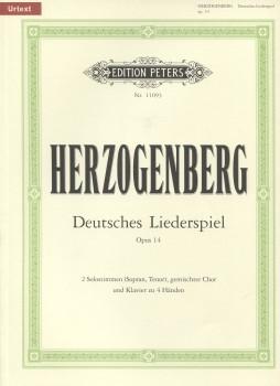 Deutsches Liederspiel, Op. 14
