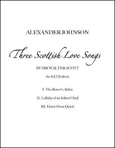 Three Scottish Love Songs