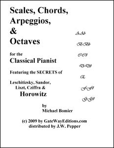 Scales, Chords, Arpeggios and Octaves for the Classical Pianist