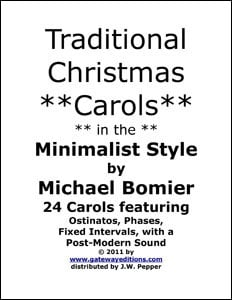 Traditional Carols in the Minimalist Style