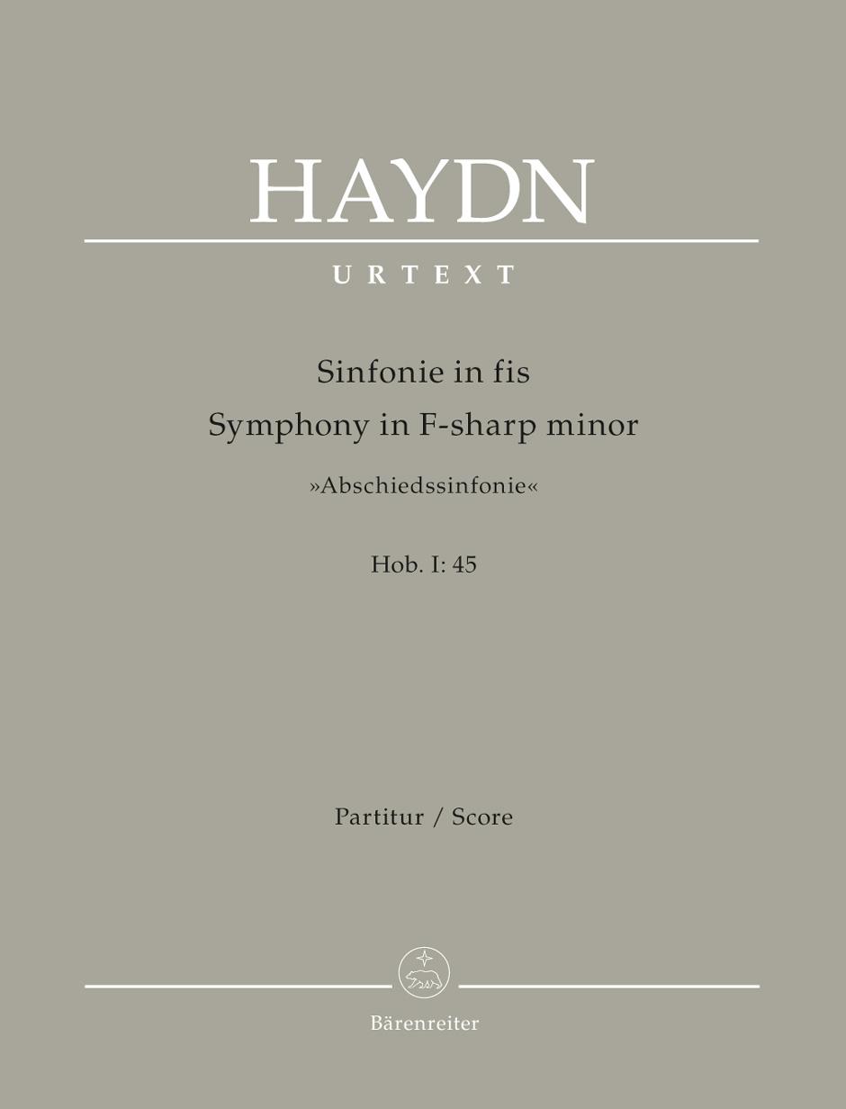 Symphony No. 45 in F-Sharp minor