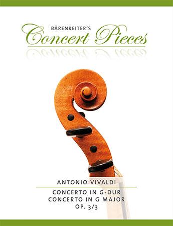 Concerto in G Major, Op. 3 No. 3